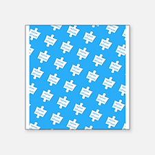 Blue Practice Autism Altruism Designer Sticker