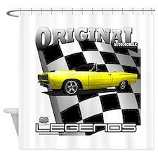 New Musclecar Top 100 1970 Shower Curtain