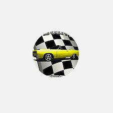 New Musclecar Top 100 1970 Mini Button