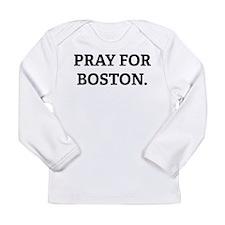 Pray for Boston. Long Sleeve Infant T-Shirt