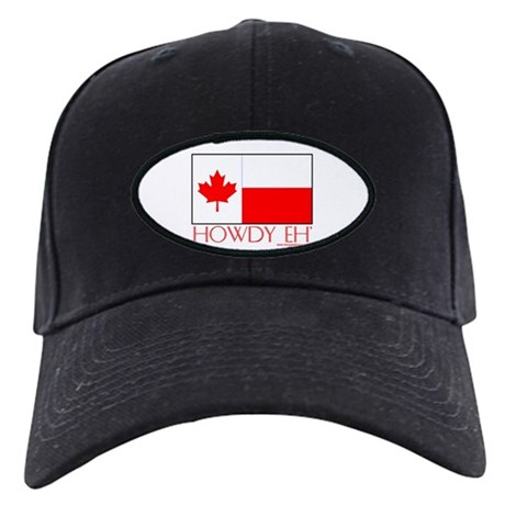Canada Howdy Eh Black Cap
