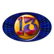 Lucky 13 Decal