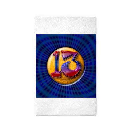 Lucky 13 3'x5' Area Rug
