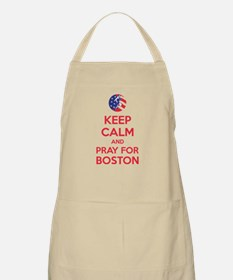 Keep calm and pray for Boston Apron