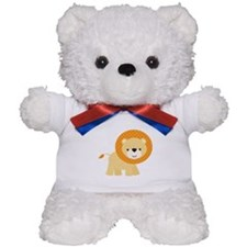 Cute Little Lion Teddy Bear