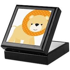 Cute Little Lion Keepsake Box