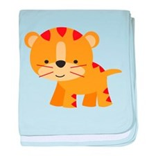 Cute Little Tiger baby blanket