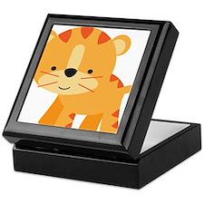 Cute Little Tiger Keepsake Box