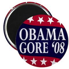 Obama-Gore '08 Magnet
