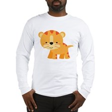 Cute Little Tiger Long Sleeve T-Shirt