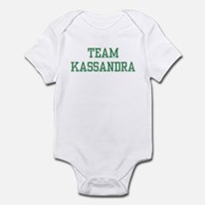 TEAM KASSANDRA  Infant Bodysuit