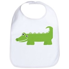 Cute Little Alligator Bib