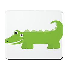 Cute Little Alligator Mousepad