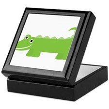 Cute Little Alligator Keepsake Box