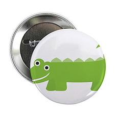 "Cute Little Alligator 2.25"" Button"