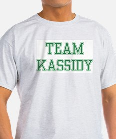 TEAM KASSIDY  Ash Grey T-Shirt