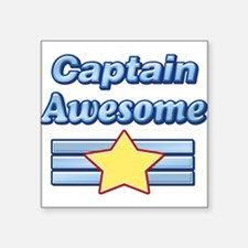 Captain Awesome2 Sticker