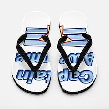 Captain Awesome2 Flip Flops