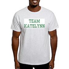 TEAM KATELYNN  Ash Grey T-Shirt