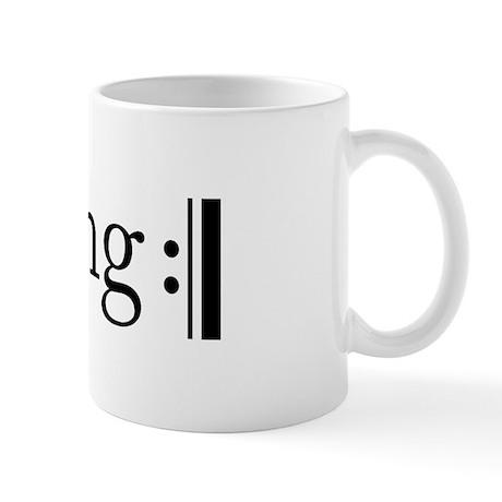 Repeated Sing Mug