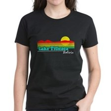 Retro LAKE TITICACA, Bolivia T-Shirt