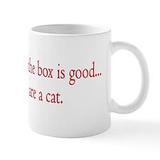 Cat Thinking Mug