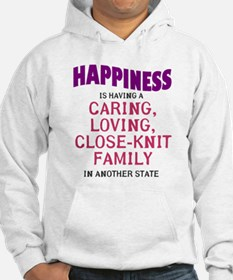 Happiness is out of state relatives Hoodie