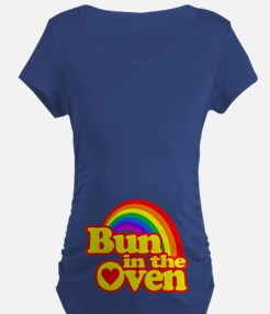 Cute! Bun in the Oven Maternity T-Shirt
