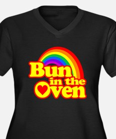 Cute! Bun in the Oven Plus Size T-Shirt