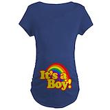 Rainbow baby maternity Maternity T-shirts (Dark)