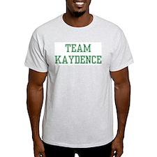 TEAM KAYDENCE  Ash Grey T-Shirt