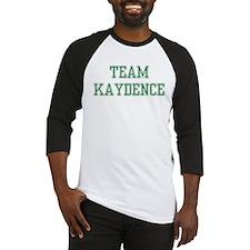 TEAM KAYDENCE  Baseball Jersey