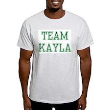 TEAM KAYLA  Ash Grey T-Shirt