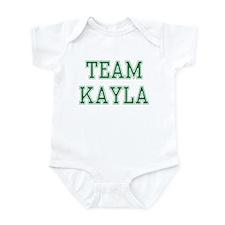 TEAM KAYLA  Infant Bodysuit