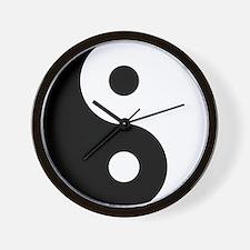Yin & Yang (Traditional) Wall Clock