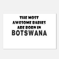 THE MOST AWESOME BABIES ARE BORN IN BOTSWANA Postc