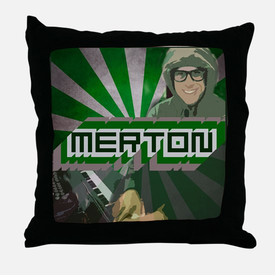 Merton by Jenny S. Throw Pillow