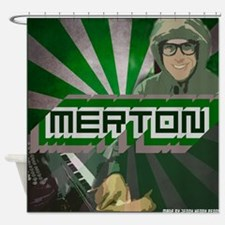Merton by Jenny S. Shower Curtain