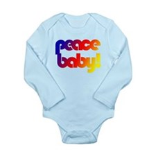 Peace 2 You Long Sleeve Infant Bodysuit