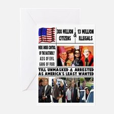 GANG OF FOUR Greeting Cards (Pk of 10)