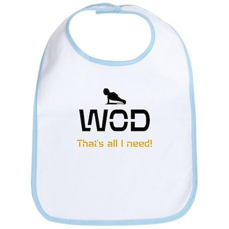 WOD That's all I need! Bib