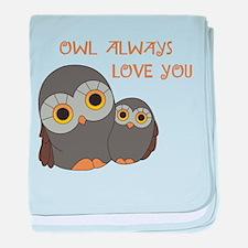 Owl Always Love You baby blanket