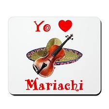 Yo Amo Mariachi Mousepad