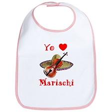 Yo Amo Mariachi Bib