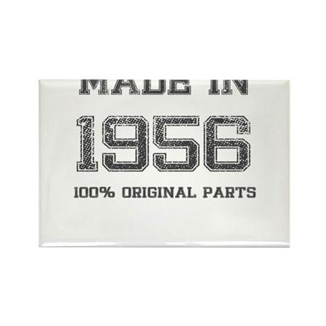 MADE IN 1956 100% ORIGINAL PARTS Rectangle Magnet