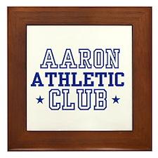 Aaron Framed Tile