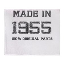 MADE IN 1955 100% ORIGINAL PARTS Throw Blanket
