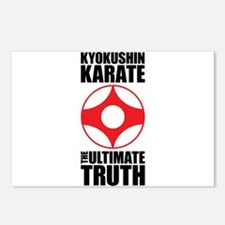 Funny Kyokushin Postcards (Package of 8)