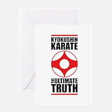 Cute Kyokushin Greeting Card