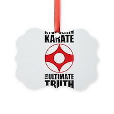 Unique Kyokushin Ornament